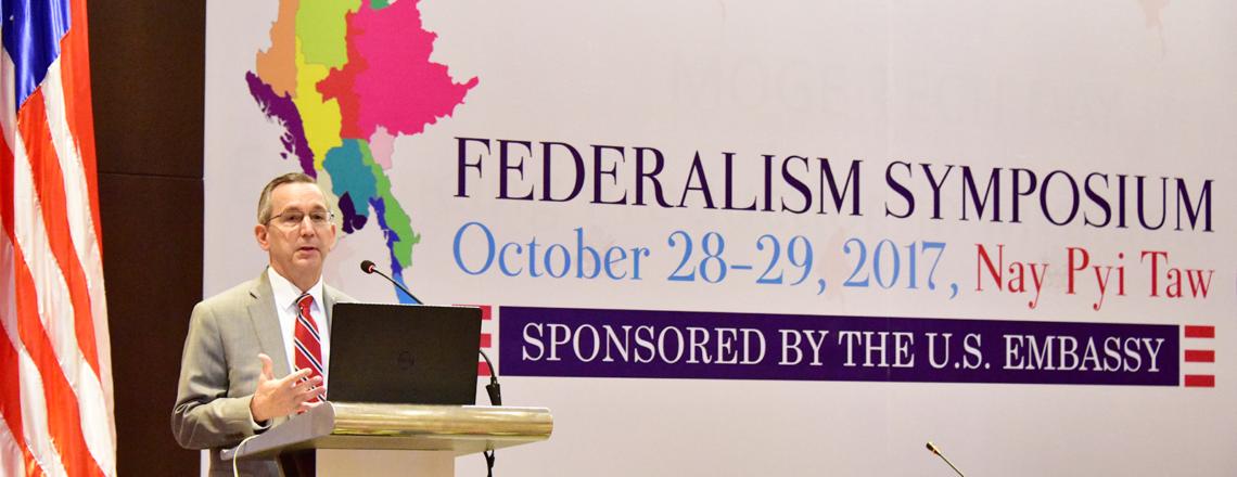 Ambassador Marciel's Opening Remarks at the Federalism Symposium