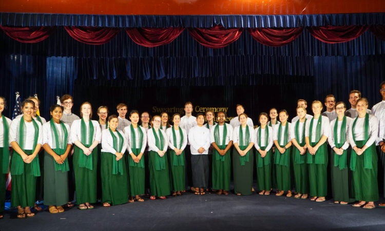 Peace Corps Volunteers 3rd Batch
